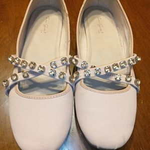 Zara girls ballet shoes